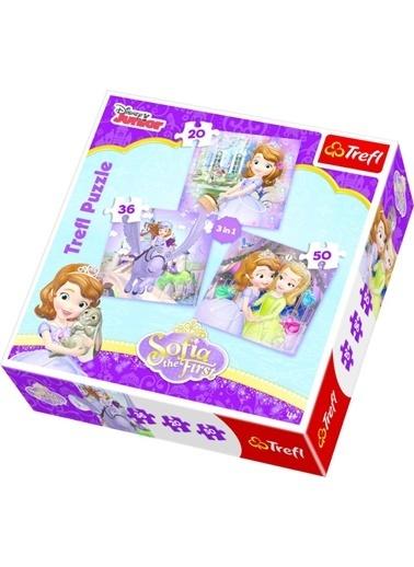 Trefl Trefl Mix Puzzle 3 ü 1 Arada 20,36,50 Parça Renkli